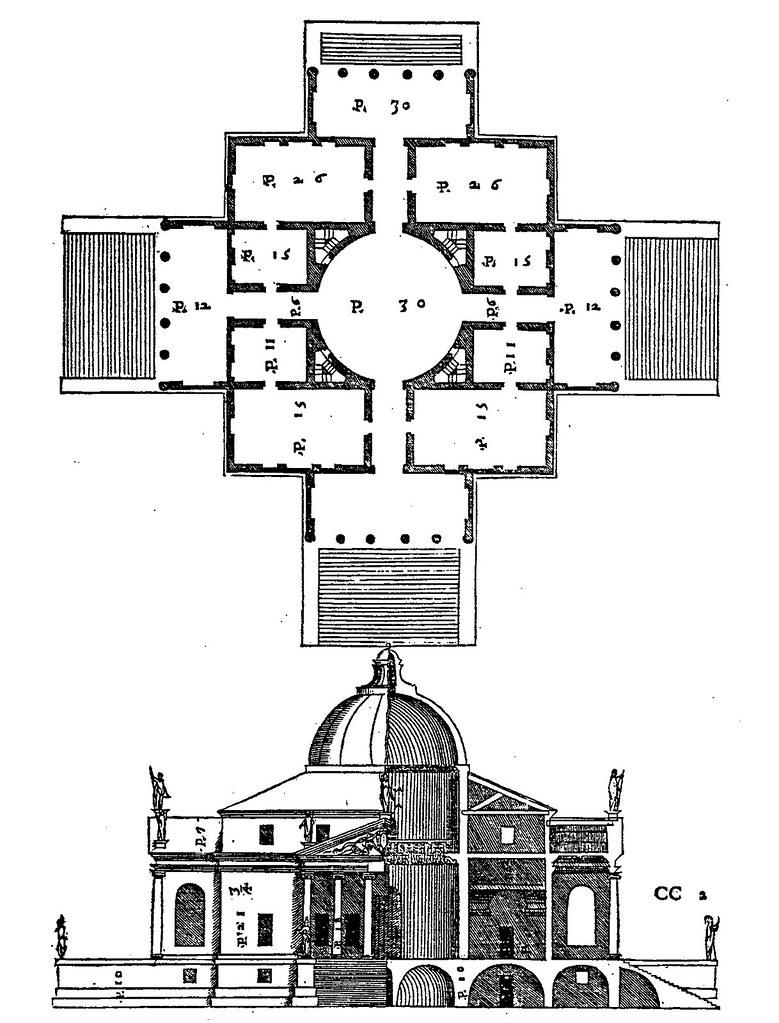 Qa505 The Villa Rotonda By Palladio Fig 505 P 621