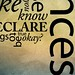 Typography on Vimeo by Ronnie Bruce
