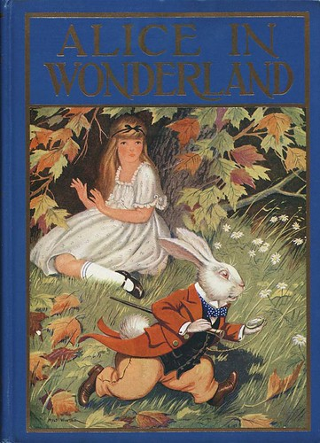 alice in wonderland illustrator winter 1924 cover flickr