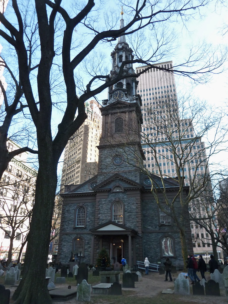 St Paul S Chapel New York After The Attack On
