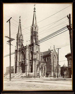 1928 glise saint douard rue st denis coin beaubien flickr - Edouard denis envers du decor ...