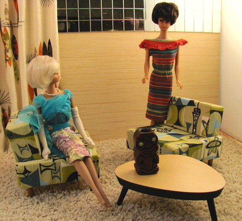 Barbie Size 50s 60s Doll Furniture Doll Furniture Scaled