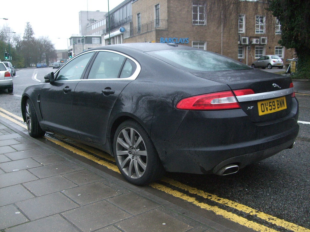 ... Jaguar Xf 2009 Black | By Giant Mice Kill Rabbits