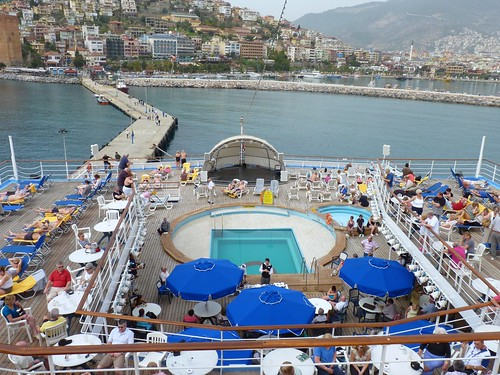 Thompson Spirit Cruise Ship First Port Of Call Alanya