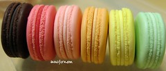 macarons side by side | by Snowfern