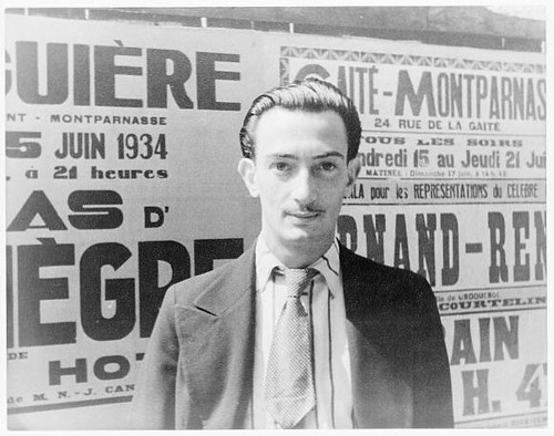 [Portrait of Salvador Dali, Paris] (LOC) | by The Library of Congress