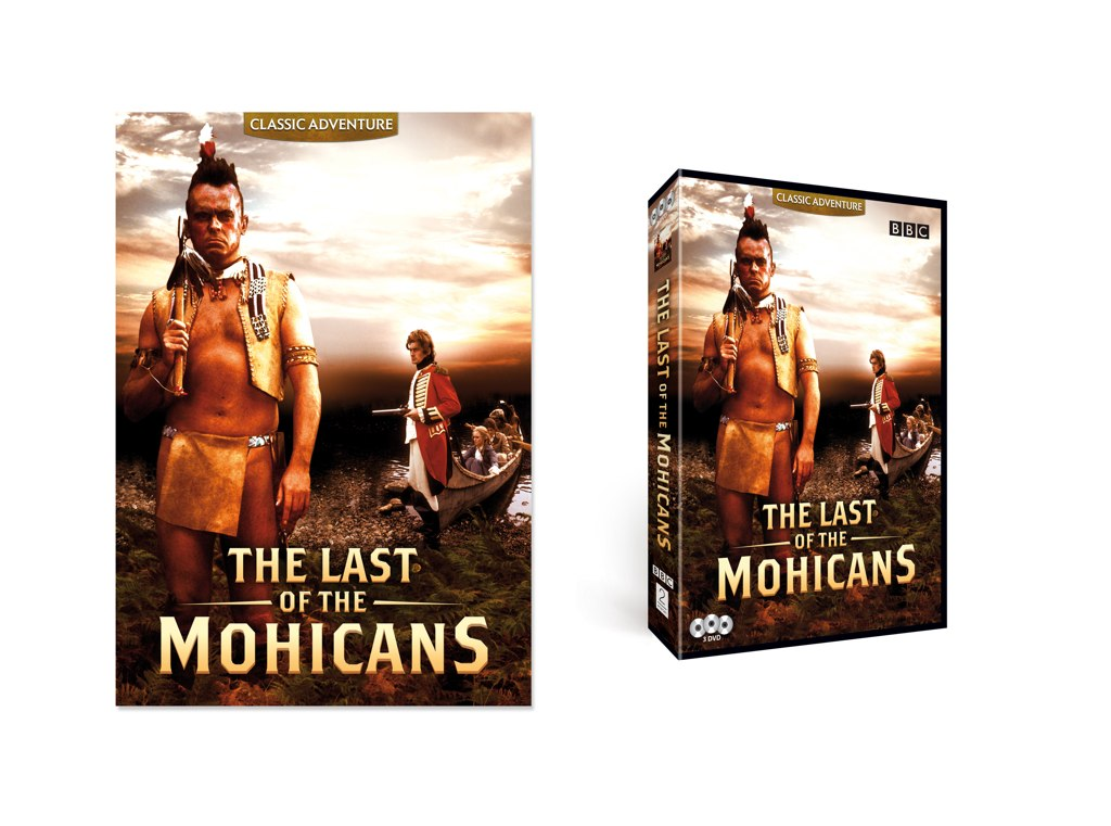The Last Of The Mohicans | DVD Packaging - Artwork creation