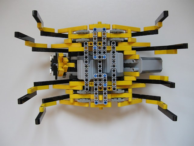 Lego Technic Robot Spider-bottom | Lego Technic Robot Spider… | Flickr