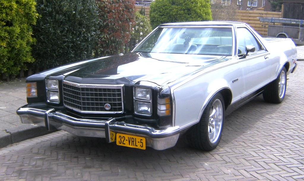 ford ranchero 500 1978 by alwinoll