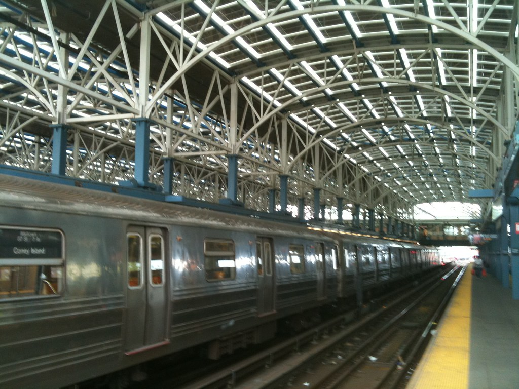 Coney Island Subway Station Map