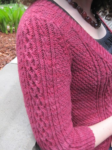 May6-Royale9-Sleeve | by crazyknittinglady