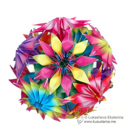 Gloriosa modular origami flowers gloriosa flowers on carca flickr gloriosa modular origami flowers by ekaterina mightylinksfo