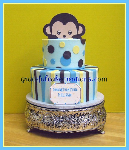 Baby Monkey Cakes For Baby Shower