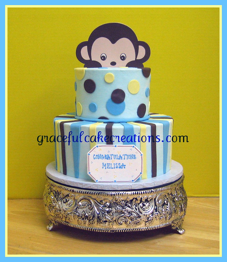 Monkey Baby Shower Cake Pictures