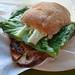 Porkloin sandwich