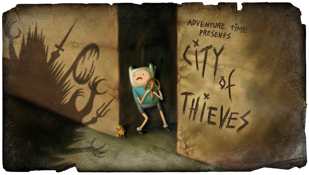 Quot City Of Thieves Quot Title Card From Pendleton Ward S