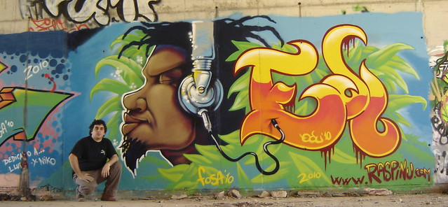 graffiti-rasta-el-vendrell-2010-posando | Flickr - Photo Sharing!