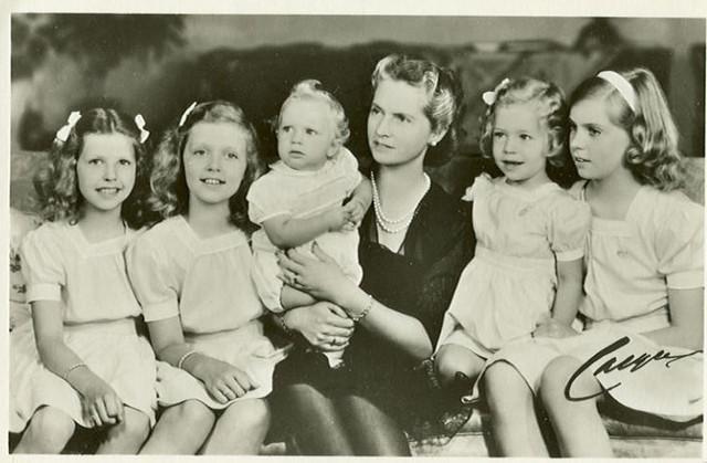 Prinzessin Sibylle Von Schweden Mit Ihren Kindern Princes
