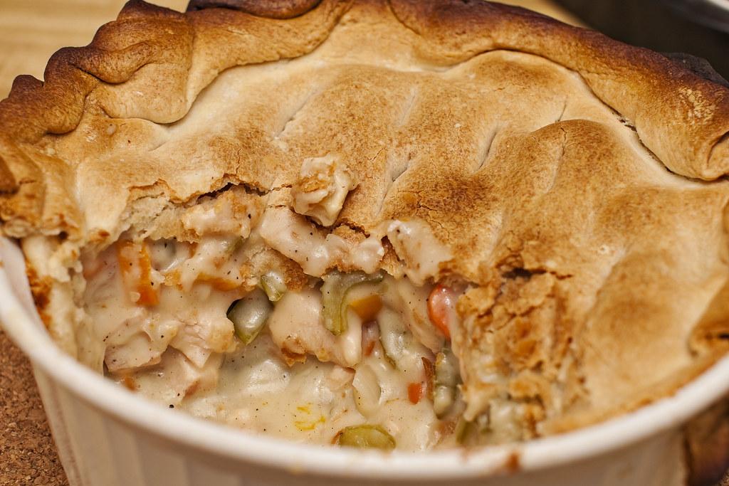 Deep Dish Chicken Pot Pie   jo made some 'organic' deep ...