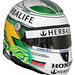 helmet of Townsend Bell front view