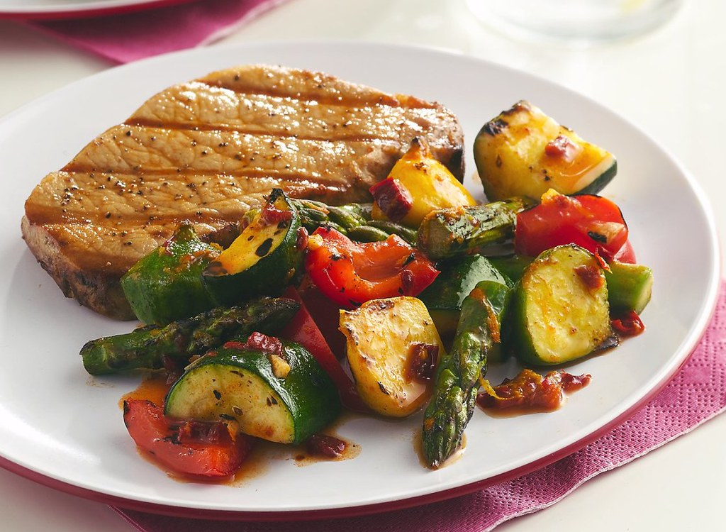 Spicy Chipotle Grilled Vegetables Recipe   INGREDIENTS: 2 ...