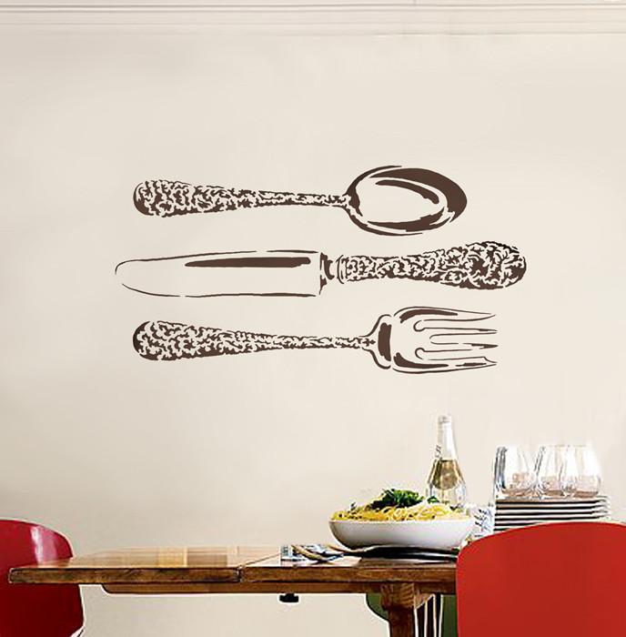 Large Stencil Bon Appetit Fun Stencil For Dining Room