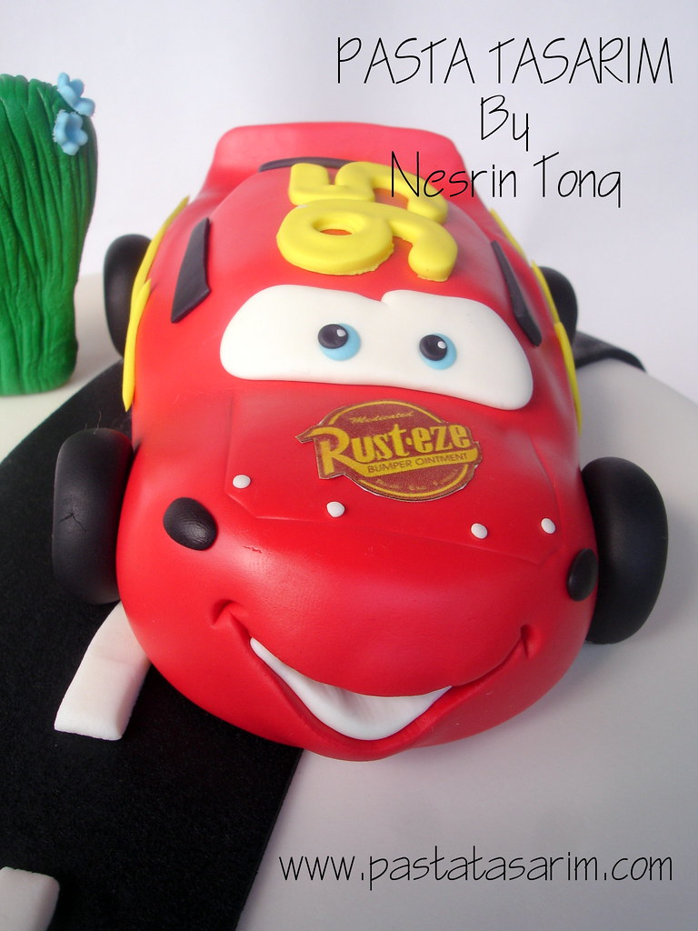Cars Mcqueen Birthday Cake Ali Cake By Nesrin Tong Flickr