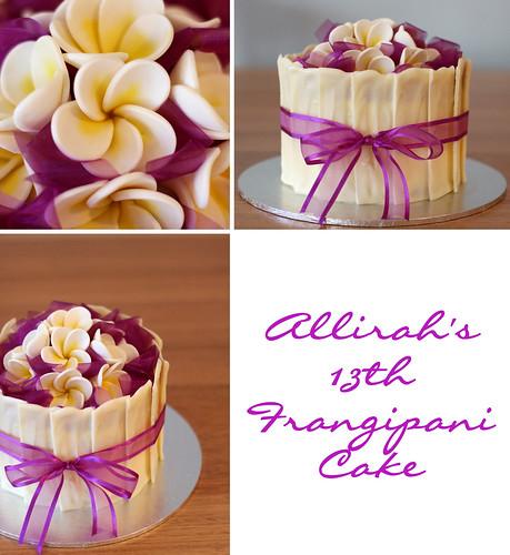 Ribbon Cake Design