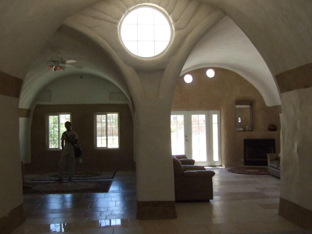 Interior Upscale Sandbag House | For those who want all ...