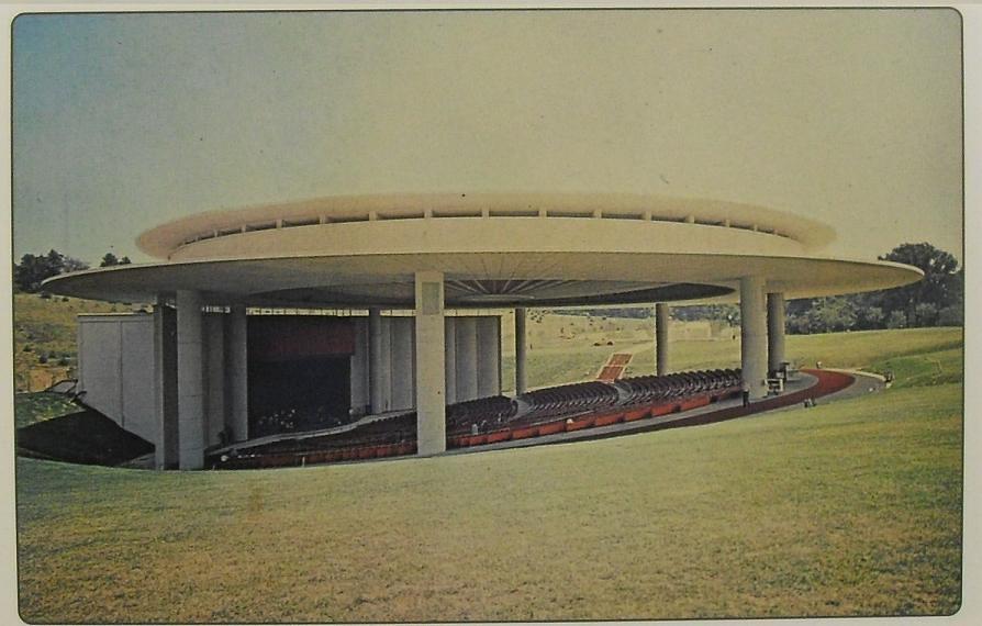 1968 Holmdel New Jersey Garden State Arts Center 1960s Amp
