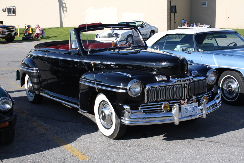 1948 Mercury Convertible Richard Spiegelman Flickr