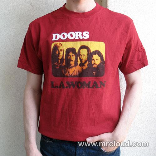 ... Doors L.A. Woman T-shirt | by Mr Cloudu0027s T-shirt Emporium  sc 1 st  Flickr & Doors L.A. Woman T-shirt | Vintage 1970u0027s repoduction t-shiru2026 | Flickr