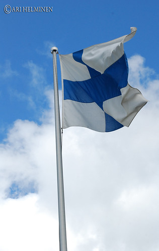 The flag of Finland | by Ari Helminen