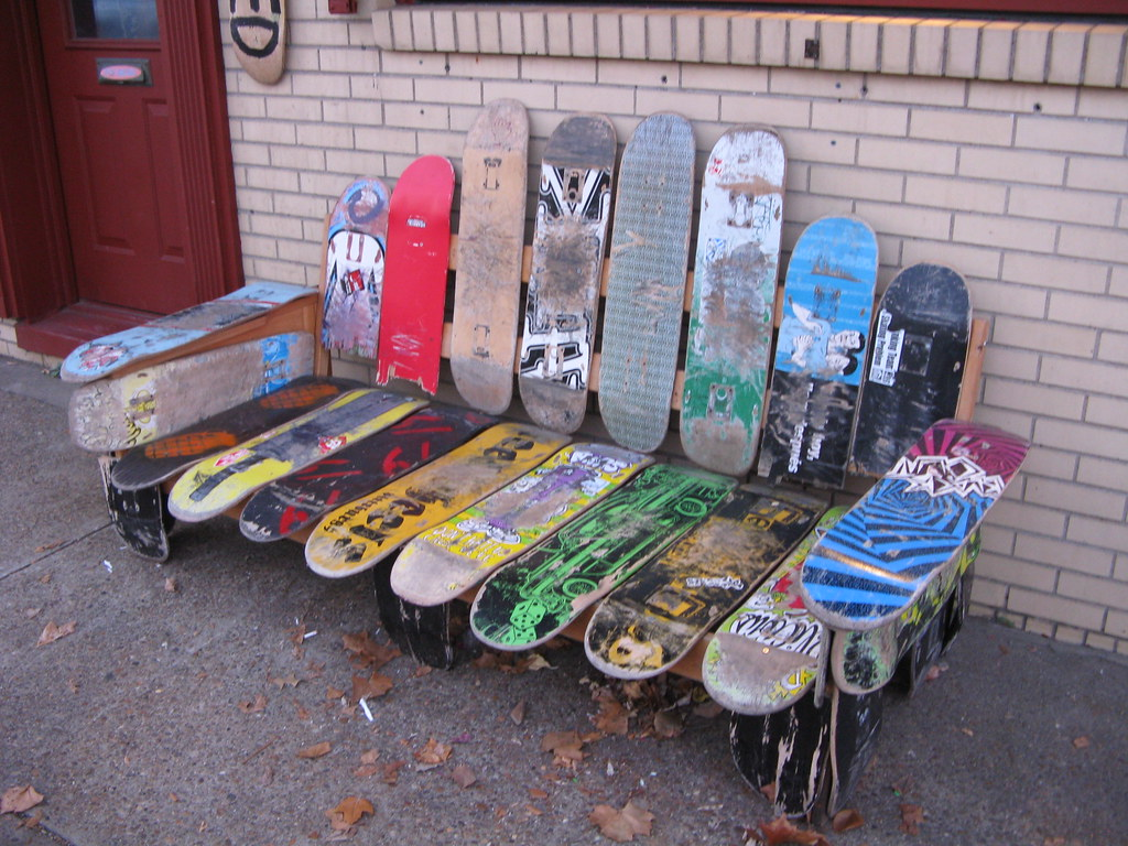 skateboard bench elm grove wv us rt 40 flickr