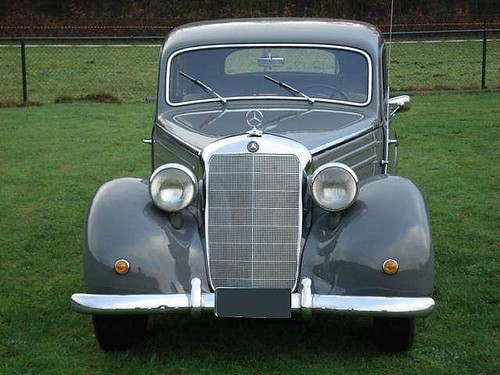 Mercedes benz 170 sd diesel 1953 willem for Mercedes benz sd