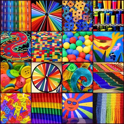 mosaico flickr de colores i 081116 1 telas de colores