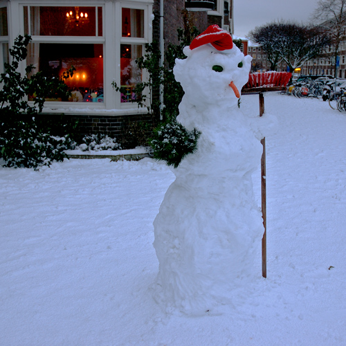 A Real Snowman Flickr Photo Sharing