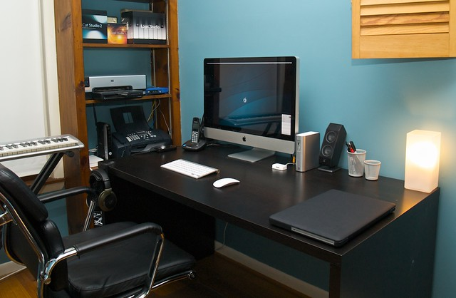 Home office mac setup quentin fountain flickr for Best home office setup 2015