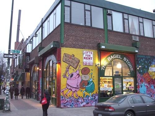 bagel store williamsburg brooklyn ny bagel store. Black Bedroom Furniture Sets. Home Design Ideas