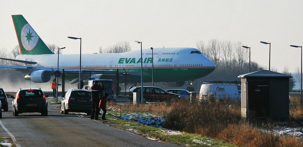 Eva Air Schiphol Eva Air Boeing 747