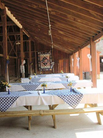Additional View Of Picnic Wedding Layout Quilts