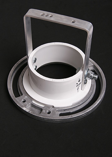 Diy speedring adapter flange normally used to support