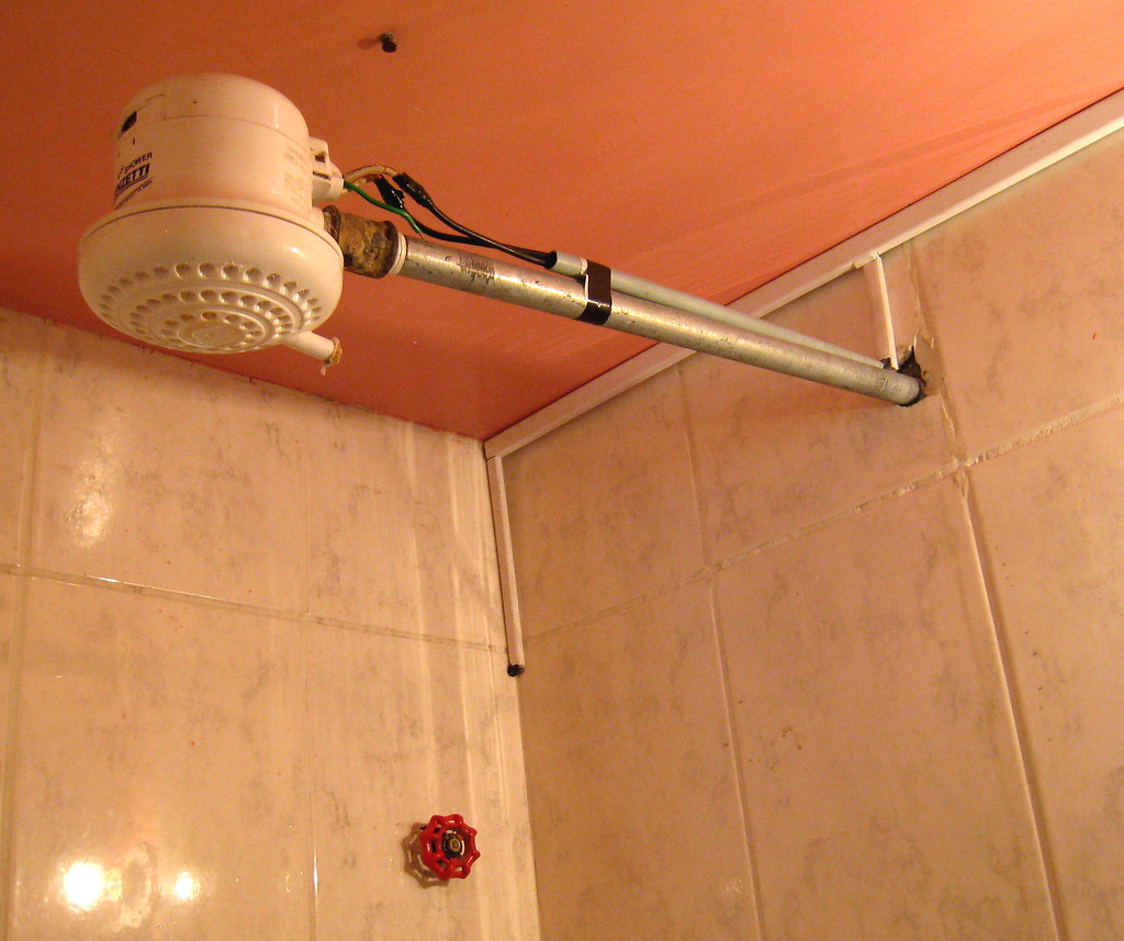 Shower Head Instant Water Heater In Most Places In