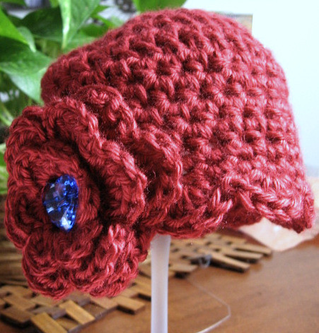 Crochet Pattern Central Baby Hats : CROCHET GIRLS CLOCHE HAT ? Only New Crochet Patterns