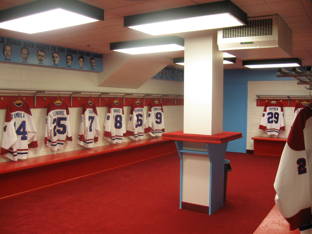 Locker Room Montreal