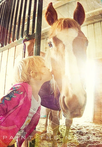 {a girl and her horse} | by annie.manning {paint the moon}