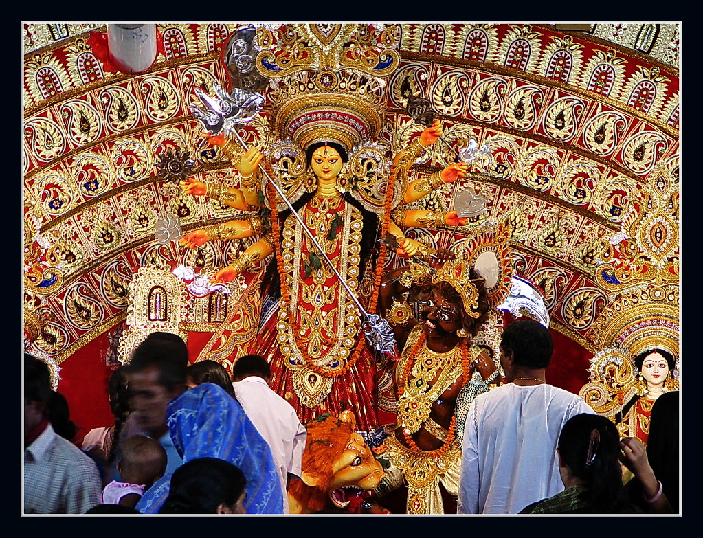 Durga Puja - A Hindu religious festival in India and Bangl… | Flickr