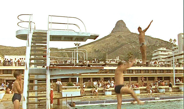 Sea Point Swimming Pool 1964 Taken From A Cini Film Flickr