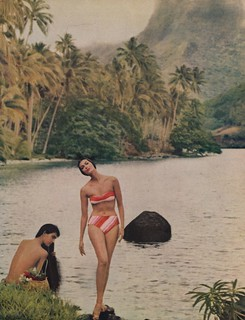 Go Native...In Swimsuits by Cole | by The Cardboard America Archives