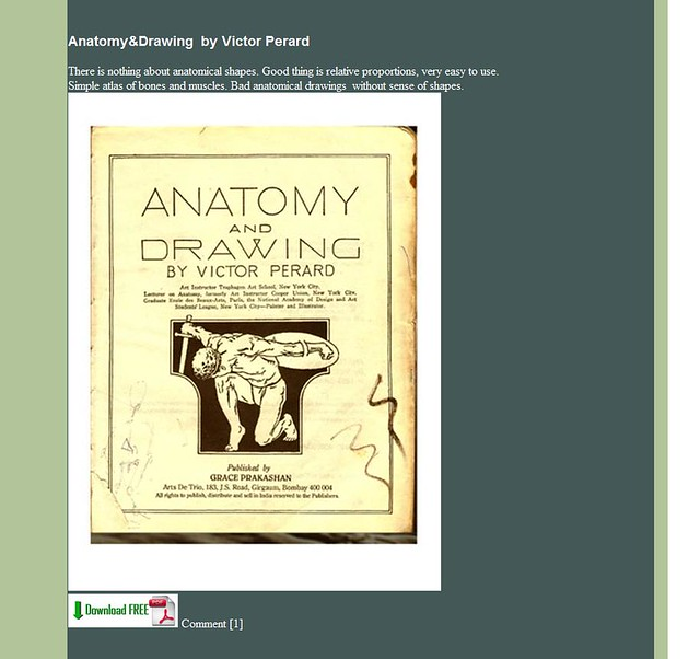 Pdf [download] anatomy and drawing book online video dailymotion.